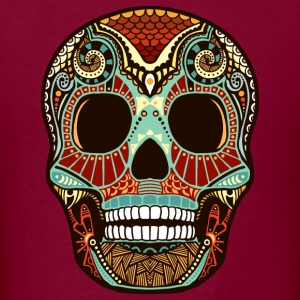 Aztec Skull - Men's T-Shirt