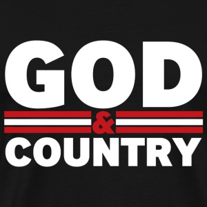 God and Country - Men's Premium T-Shirt