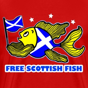 Free Scottish fish  - Men's Premium T-Shirt