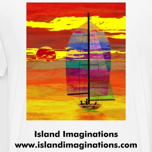 Sunset Sail - Men's Premium T-Shirt