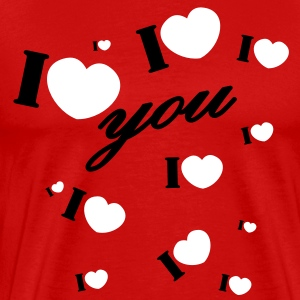 I love you valentine Valentine's Day T-Shirts - Men's Premium T-Shirt