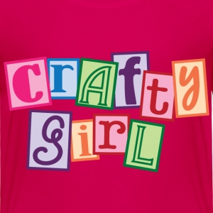 Crafty Girl Toddler Shirts - Toddler Premium T-Shirt