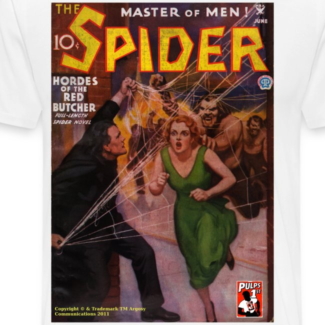 The Spider June 1935 3/4XL