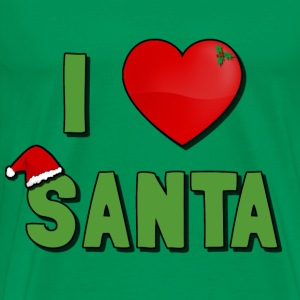 I Love Santa T-Shirt - Men's Premium T-Shirt