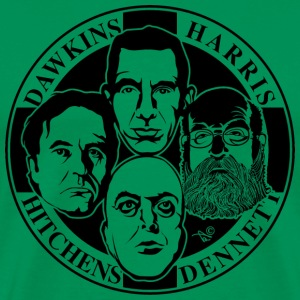 The Four Horsemen: New Atheists - Men's Premium T-Shirt