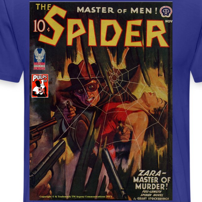 The Spider Nov 1942 Zara - The Murder Master, 2/4XL