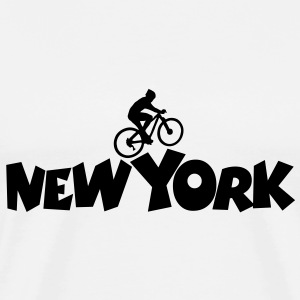 New York Biker - Men's Premium T-Shirt