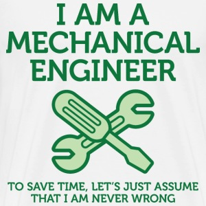 I Am A Mechanical Engineer 2 (dd)++ T-Shirts - Men's Premium T-Shirt