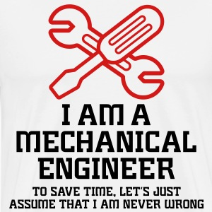 I Am A Mechanical Engineer 1 (2c)++ T-shirts (manches courtes) - T-shirt premium pour hommes