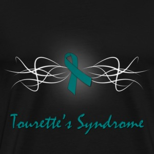 Tourette's Syndrome Awareness T-Shirt - Men's Premium T-Shirt