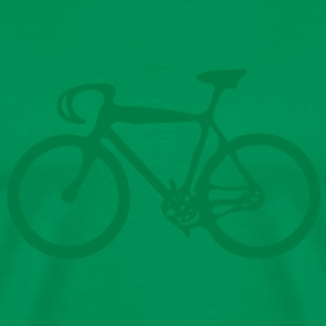 Bicycle Men's Heavyweight T-Shirt - Men's Premium T-Shirt