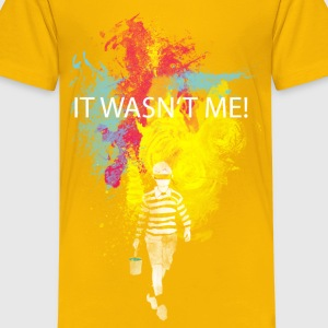 It wasn't me! Kids' Shirts - Kids' Premium T-Shirt