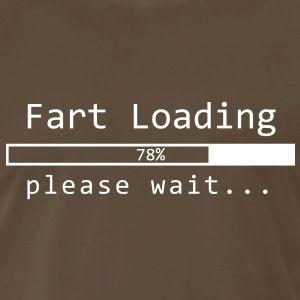 Fart Loading Please Wait - Men's Premium T-Shirt