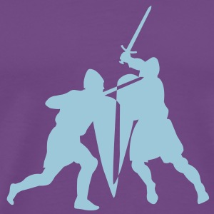 Sword fight T-shirt - Men's Premium T-Shirt