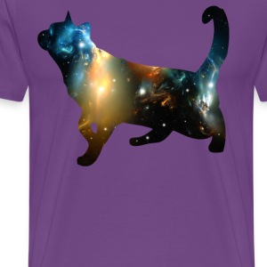 CELESTIAL CAT T-Shirts - Men's Premium T-Shirt