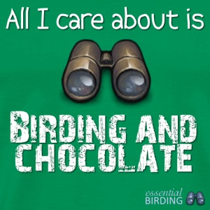 All I Care About is Birding & Chocolate - Men's Premium T-Shirt