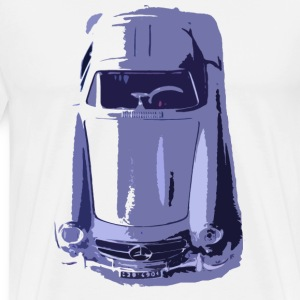 Mercedes SL300 Gullwing - Men's Premium T-Shirt