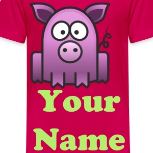 Fatso The Pig - Kids' Premium T-Shirt