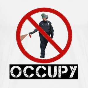 Pepper Spray Guy Occupy T-Shirts - Men's Premium T-Shirt