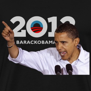 Obama Speaking - Men's Premium T-Shirt