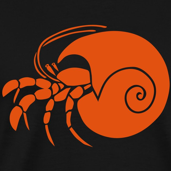 animal t-shirt hermit crab crayfish cancer shrimp prawn lobster ocean snail conch seafood sea food shellfish