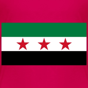 Syria Flag (pre-1963) - Toddler Premium T-Shirt
