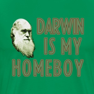 Darwin is my Homeboy - Men's Premium T-Shirt