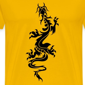 Chinese Dragon Tattoo 6 T-Shirts - Men's Premium T-Shirt