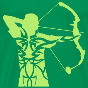 Archery tribal T-shirt - Men's Premium T-Shirt