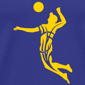 Beach volleyball tribal T-shirt - Men's Premium T-Shirt