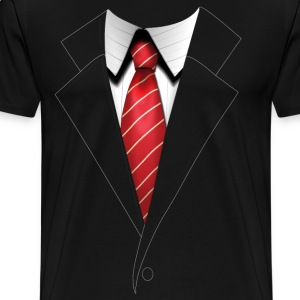 Agent 47's Hitman Suit - Men's - Men's Premium T-Shirt