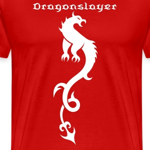 Dragon Tribal Tattoo 19 T-Shirts - Men's Premium T-Shirt