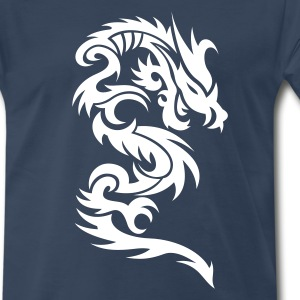 Dragon Tribal Tattoo 10 T-Shirts - Men's Premium T-Shirt