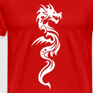 Dragon Tribal Tattoo 12 T-Shirts - Men's Premium T-Shirt