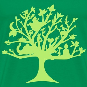 Yoga tree of life - Men's Premium T-Shirt