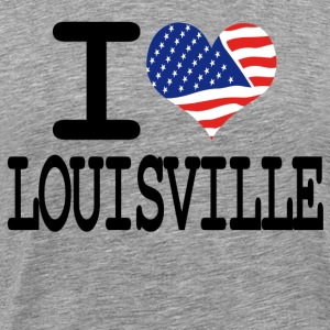 i love louisville T-Shirts - Men's Premium T-Shirt