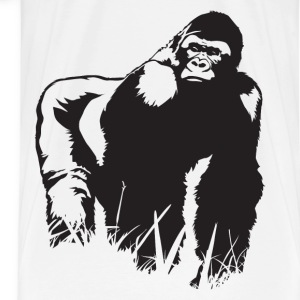 King Gorilla HD Design T-Shirts - Men's Premium T-Shirt