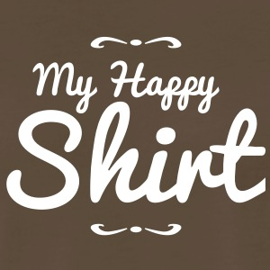 my happy shirt T-Shirts - Men's Premium T-Shirt