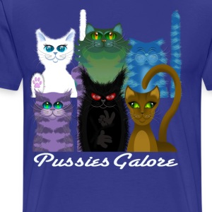 PUSSIES GALORE T-Shirts - Men's Premium T-Shirt