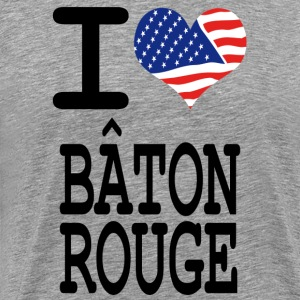 i love baton rouge T-Shirts - Men's Premium T-Shirt