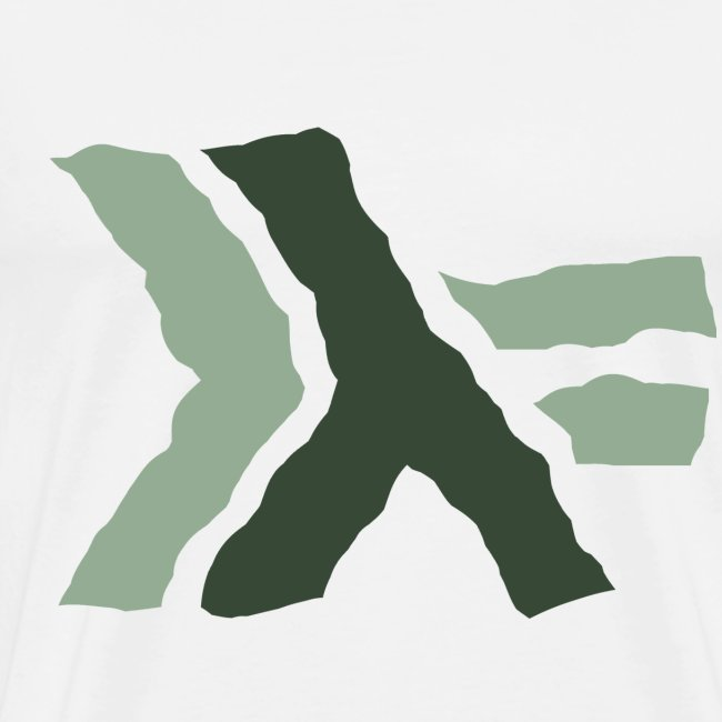 Haskell logo painted: nautral green
