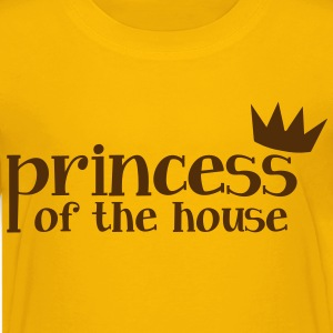 Princess of the house with little crown Kids' Shirts - Kids' Premium T-Shirt