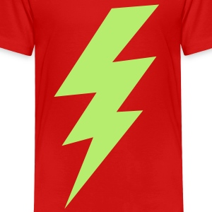 thunder lightning bolt flash Toddler Shirts - Toddler Premium T-Shirt
