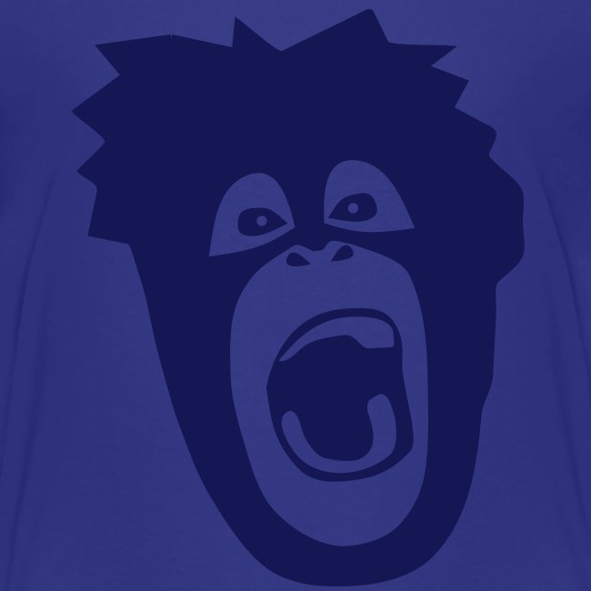 animal t-shirt gorilla ape monkey king kong godzilla silver back orang utan T-Shirts