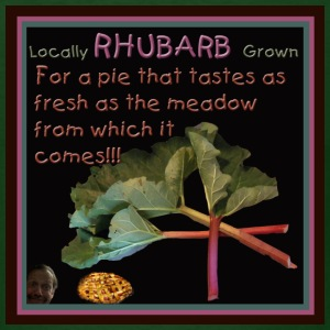 Rhubarb! For a pie that tastes as fresh as the meadow from which it comes! - Men's T-Shirt