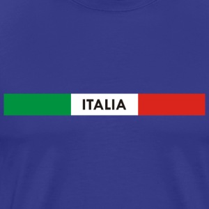 Italia green white red T-Shirts - Men's Premium T-Shirt