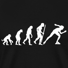 Evolution of inline speed skating  T-Shirts