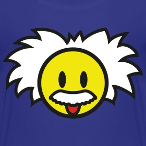 Smiley Einstein Icon (dd print) Kids' Shirts - Kids' Premium T-Shirt