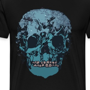Nature Skull- Men - Men's Premium T-Shirt
