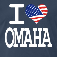 i love omaha - white T-Shirts